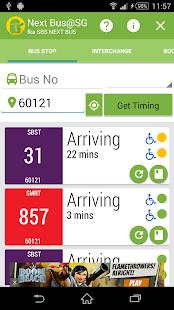 Next Bus@SG (fka SBS Next Bus)- screenshot thumbnail