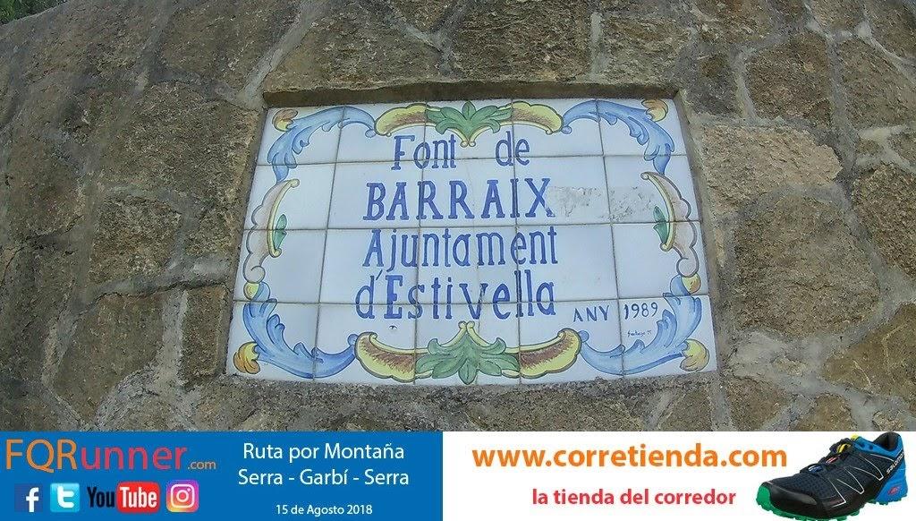 Font de Barraix