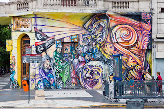 Photo: #StreetArtSunday is here!  Today I'm sharing a photo I took in Buenos Aires, Argentina which is an amazing place for photographing graffiti! There seems to be a piece on every corner and the art is well received by the public.  In fact, http://graffitimundo.com gives Graffiti tours in the city. Their site is an amazing resource to learn about streetart in Buenos Aires and to learn about many of the artists - http://graffitimundo.com/artists/   For more information about #StreetArt Sunday, read here: https://plus.google.com/108281923609340751312/posts/KrJWTKmscr8 - cc +Luís Pedro +Peter Tsai   #graffiti #streetart #mural