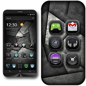 Cool Black Material Theme
