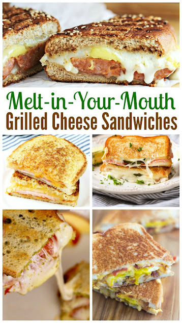 20 Melt-in-Your-Mouth Grilled Cheese Sandwich recipes. The perfect collection for National Grilled Cheese Month