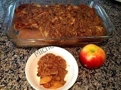Michele's Apple Crisp Recipe