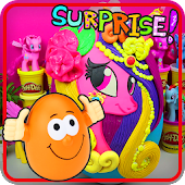 Surprise Eggs Pony Toys
