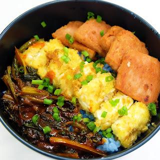 Blue Pea Flower Rice.