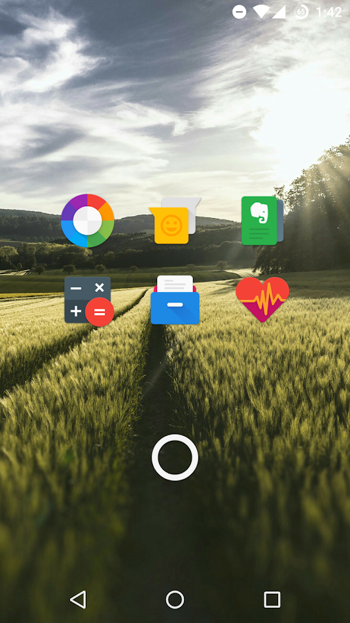 Polycon - Icon Pack – zrzut ekranu