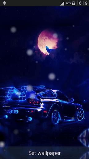 Neon Cars Live Wallpaper HD 2.8 screenshots 5