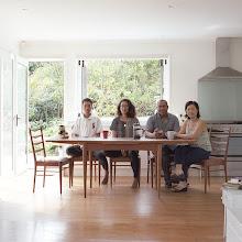 Photo: title: Minh, Jonas, Leon, Shanti + (Anya), Auckland, New Zealand date: 2016 relationship: friends, met through AFS years known: Minh 25-30, Jonas 0-5