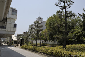 Photo: もともと倚松庵は現在地から約150mほど南、現在の六甲ライナー魚崎駅脇辺りにあった。