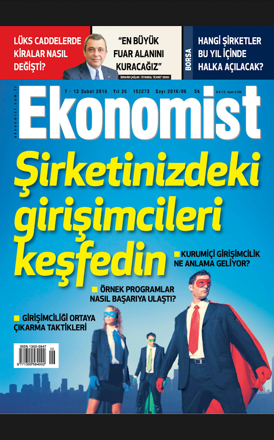 Ekonomist Dergisi- screenshot