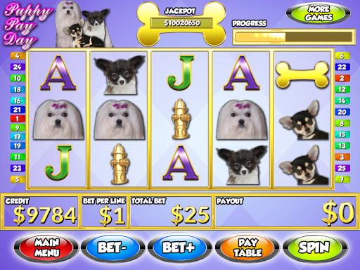 【免費博奕App】Puppy Pay Day Dog Slots PAID-APP點子