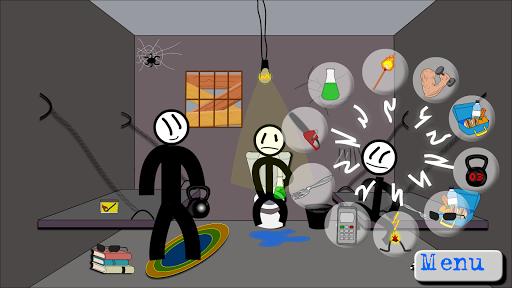 Stickman Jailbreak 5 : Funny Escape Simulation  captures d'écran 1