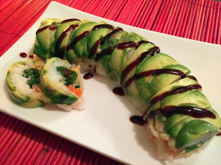 Tempura Shishito Pepper & Salmon Sushi W/ Sriracha-Lime Cream Cheese Recipe