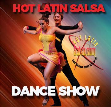Dance shows from Hot Latin Salsa
