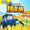 Idle Leisure Farm - Cash Clicker icon