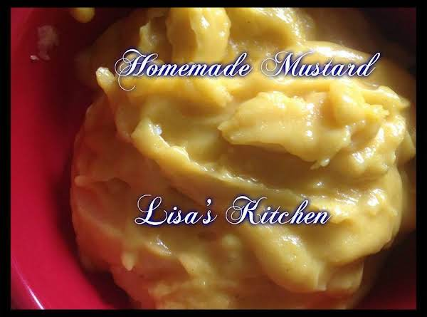 Lisa's Homemade Mustard Recipe