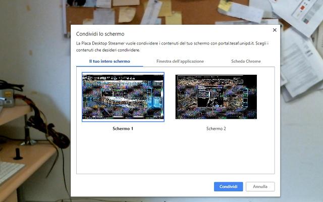 La Placa Desktop Streamer