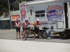 Photo: Day 19 Dubois to Riverton WY 79 miles 1410' climbing: Tom - another wardrobe change
