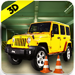 Jeep Drive Parking Simulator Icon