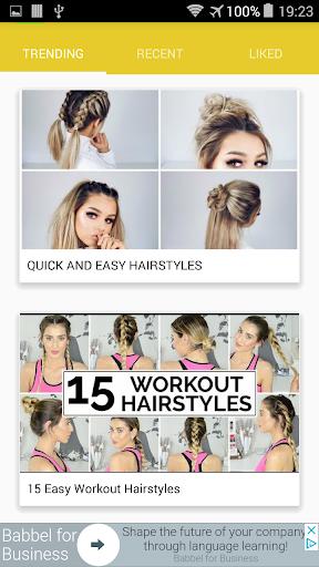 Easy Hair Style Tutorial 1.0.1 screenshots 1