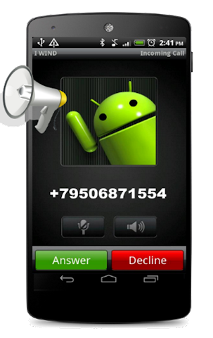 android Talk Caller Name Screenshot 2