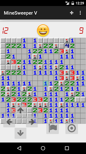 MineSweeper with Virtual Dpad