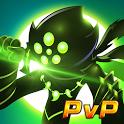 League of Stickman 2018- Ninja Arena PVP(Dreamsky) icon