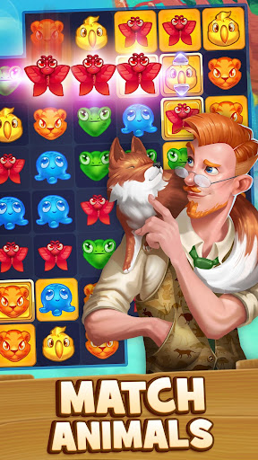 Animal Drop – Free Match 3 Puzzle Game apkdemon screenshots 1