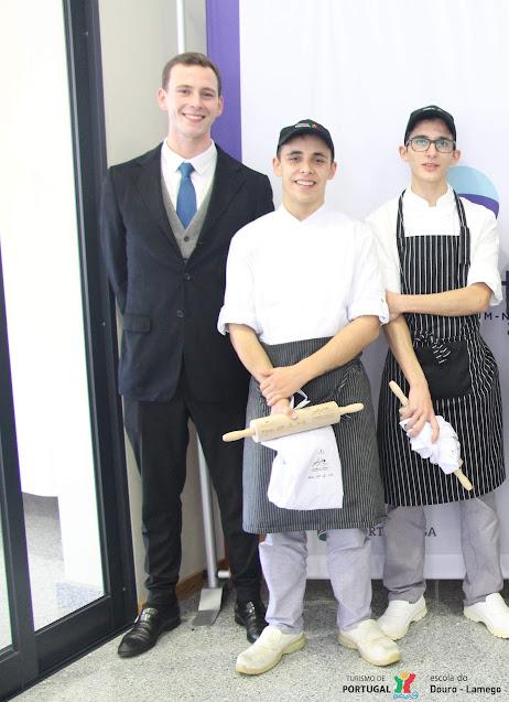 Dois vencedores da Escola de Hotelaria do Douro - Lamego no Concurso Interescolas 2019