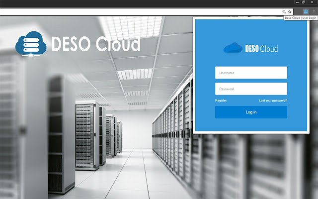 Deso Cloud | User Login