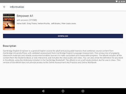 Cambridge Bookshelf Mod Apk v2.1.6 (Premium) 1