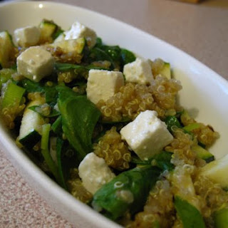 Spinach And Feta Quinoa Lunch