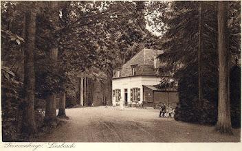 Photo: 1906 Uitspanning De Boswachter in het Liesbos.