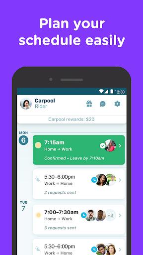 Waze Carpool - Ride together. Commute better. 2.17.5.0 screenshots 2