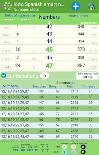 smart numbers for Primitiva - náhled
