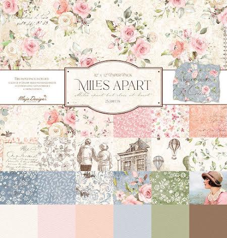 Maj design 12X12 Collection Pack - Miles Apart