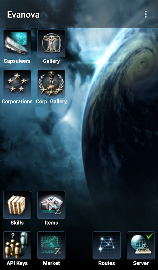 Evanova for EVE Online - screenshot