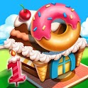 Cooking City: craze chef' s cooking games icon