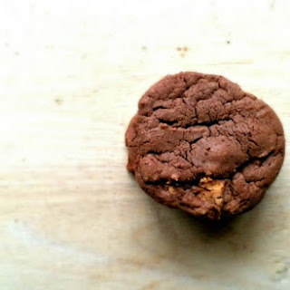 Chewy Chocolate Peanut Butter Cup Cookies