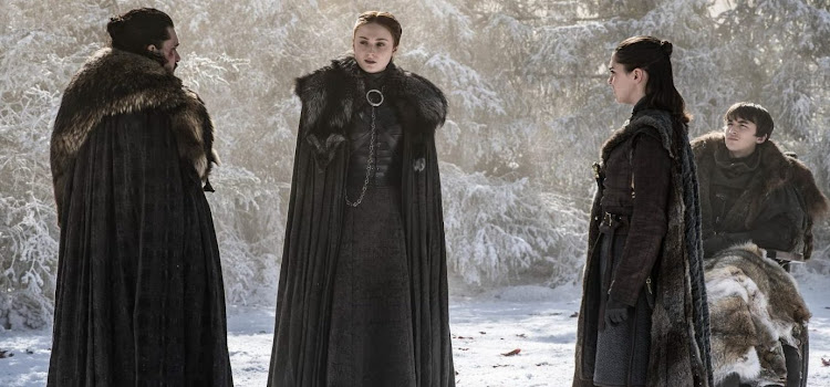 The Stark clan in episode 4 of season 8 of 'Game of Thrones'.
