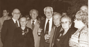 Marín Rosa y empleados más antiguos.