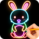 How to draw Glow Zoo 0.9.12 Apk