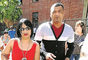 Zephany Nurse's biological parents, Celeste and Morne, after being reunited with their daughter in 2015.