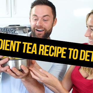 3 ingredient Tea Recipe to Detox You - Saturday Strategy.