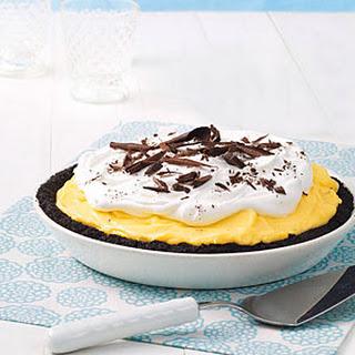 Black-Bottom Banana Pie