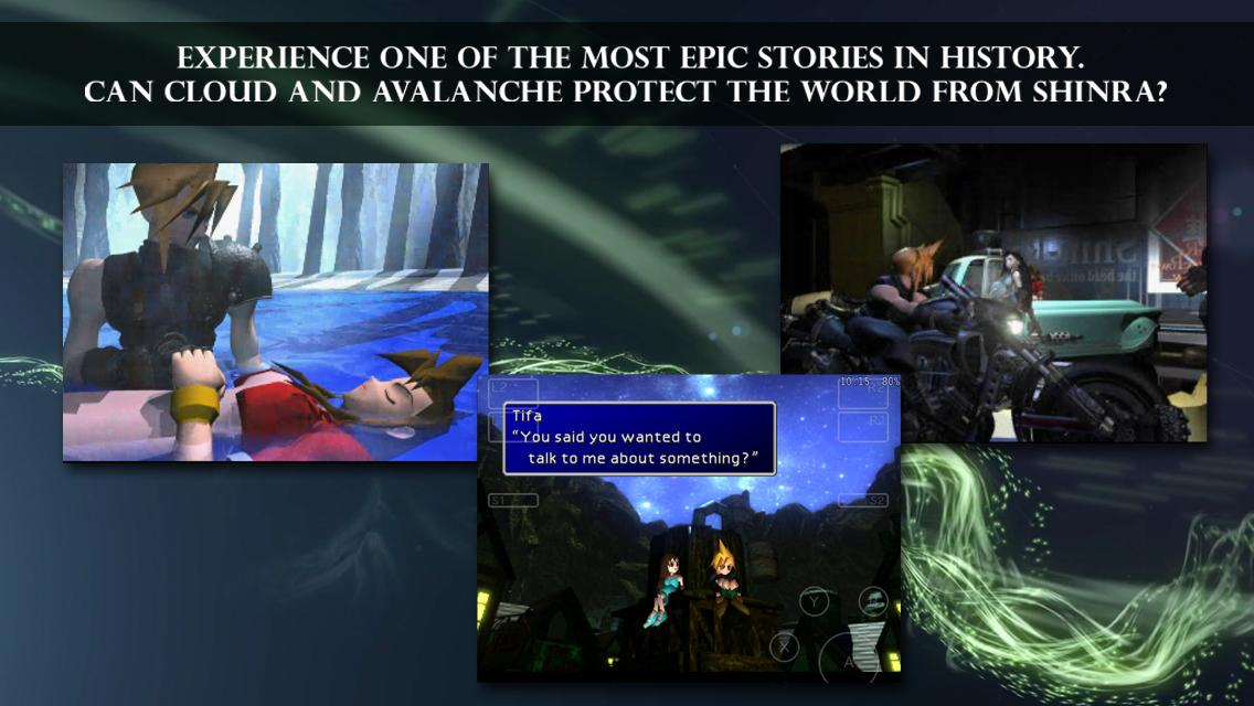 FINAL FANTASY VII- screenshot