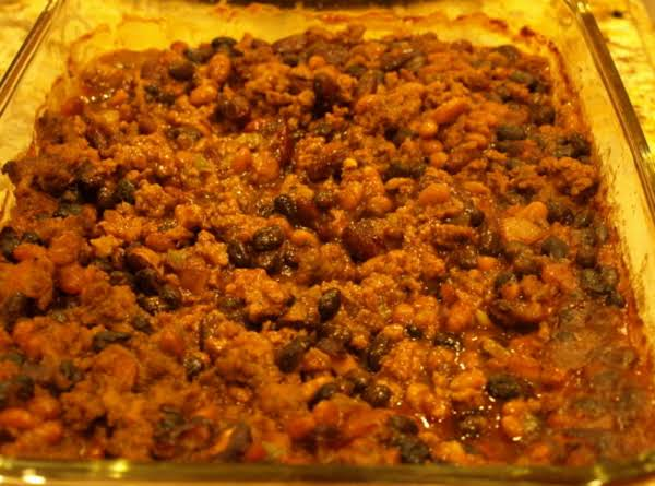Chuck Wagon Bean Bake Recipe