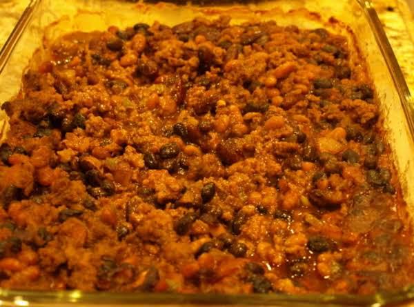 Chuck Wagon Bean Bake