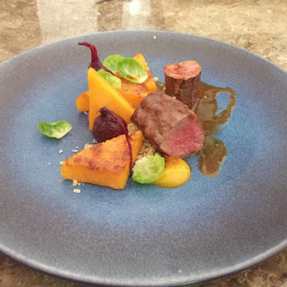 Loin of Venison with Butternut Squash Recipe