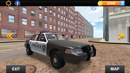 American Police Car Driving 8 screenshots 6