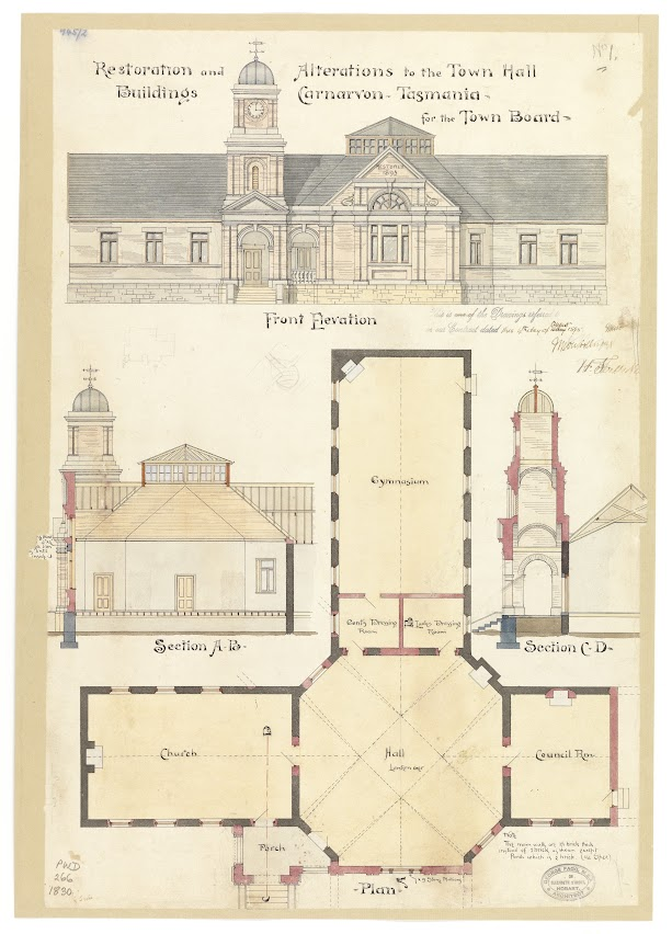 Port Arthur (Carnarvon) - restoration and alteration to Town Hall buildings (George Fagg)